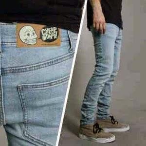 Celana Jeans Skinny Pria, Celana Jeans model skinny, Celana Jeans Murah