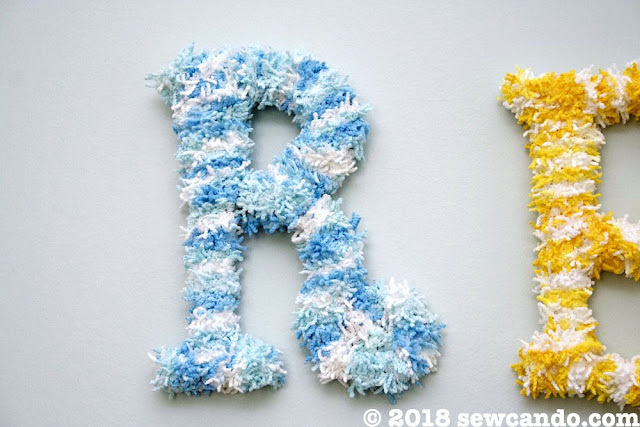 Letter Wall Decor Ideas For Name A
