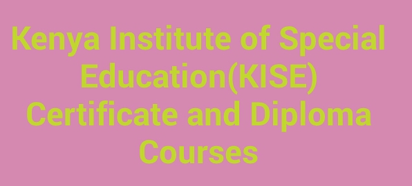 Kiss certificate and diploma courses 2018