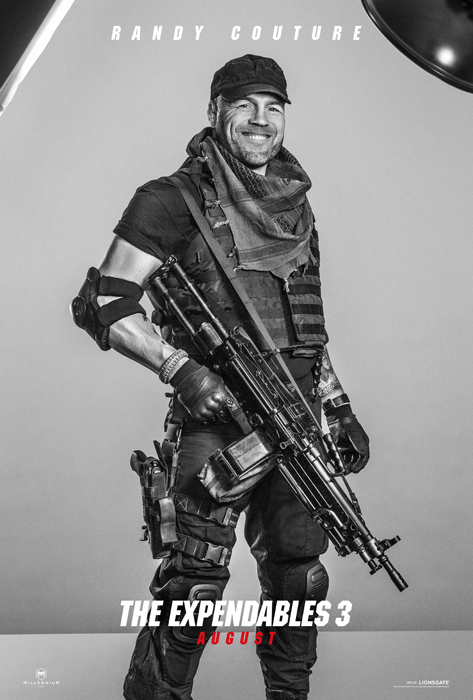 Poster The Expendables 3 - Randy Couture