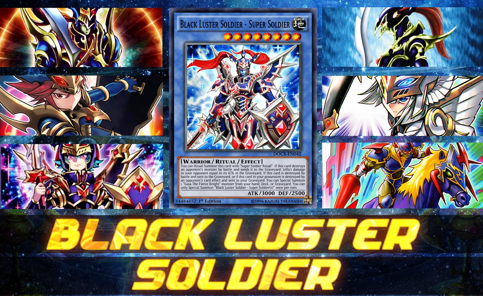 deck black luster soldier post raging tempest duel entertainment