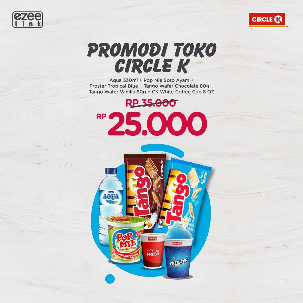 CircleK - Promo Bundling 25 Ribu Pakai E-Card Member
