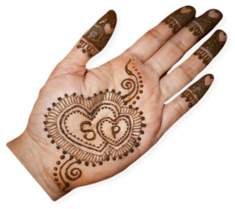Two Heart Mehndi
