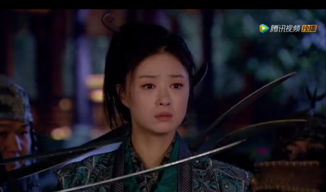 Jiang Xin and Yan Hong 2015 best wuxia, Legend of the Hua Xu Yin, tragic romance drama