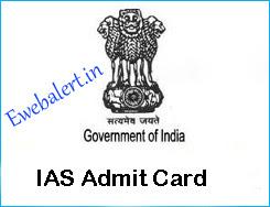 IAS Admit Card