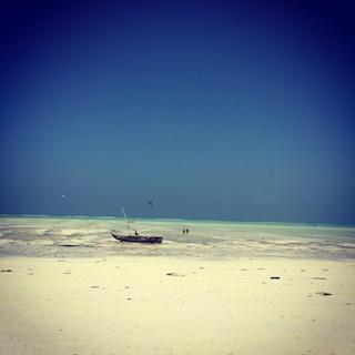 Plage sable blanc Tanzanie