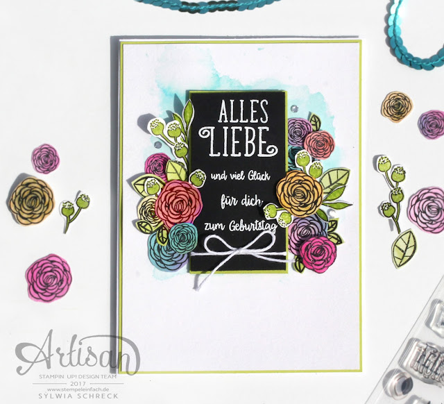 Happy Birthday Gorgeous-Stampin up
