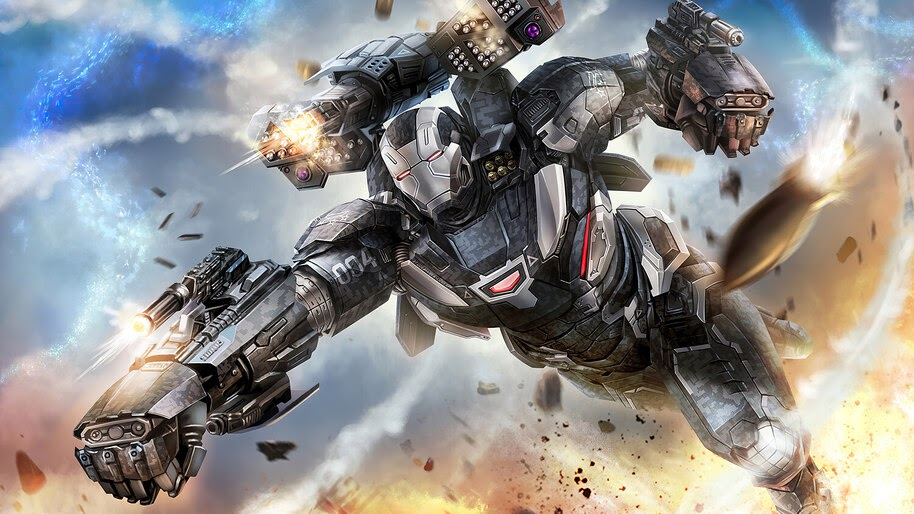 War Machine, Missiles, Marvel, Superhero, 4K, #6.1210