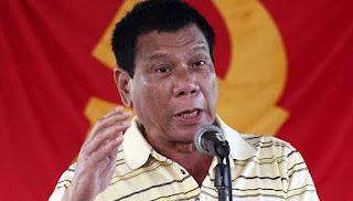 Presiden Duterte Lebih Kejam 50 Kali daripada Teroris