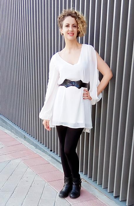 Vestido-gasa-cuello-V-blanco-5