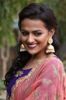 Actress Shraddha Srinath in Purple Chania Choli Cute Pics ~  Exclusive 16.jpg