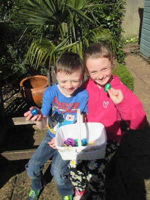 We found easter eggs in the garden! Green Fingered Blog