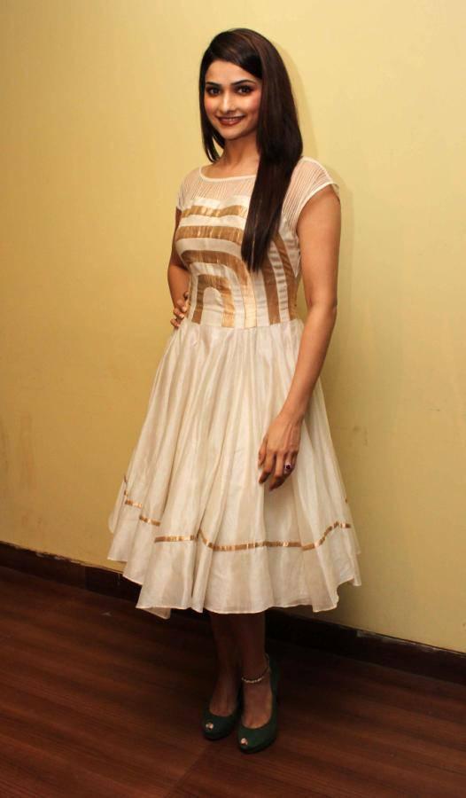 Beautiful Surat Actress Prachi Desai Long Hair In White Skirt