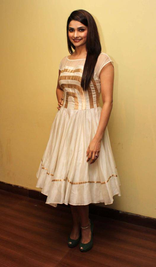 Beautiful Surat Girl Prachi Desai Long Hair Stills In White Skirt