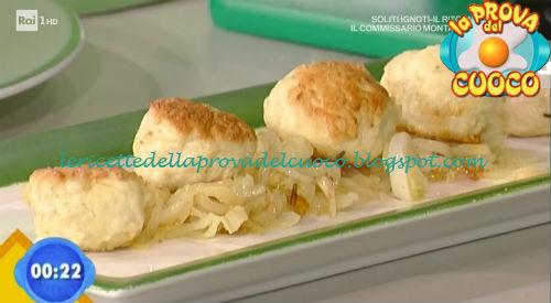 Polpettine di pollo con cipolline in agrodolce ricetta Valbuzzi da Prova del Cuoco