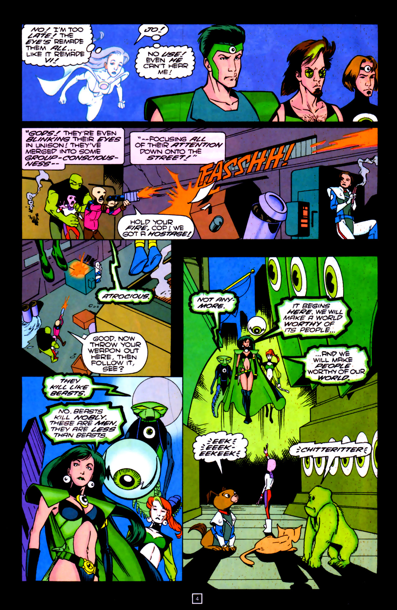 Legion of Super-Heroes (1989) 84 Page 3