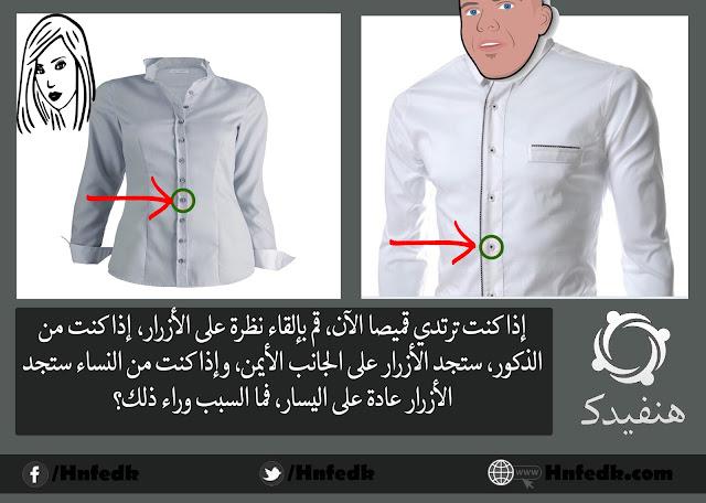 تصميم أزرار الملابس