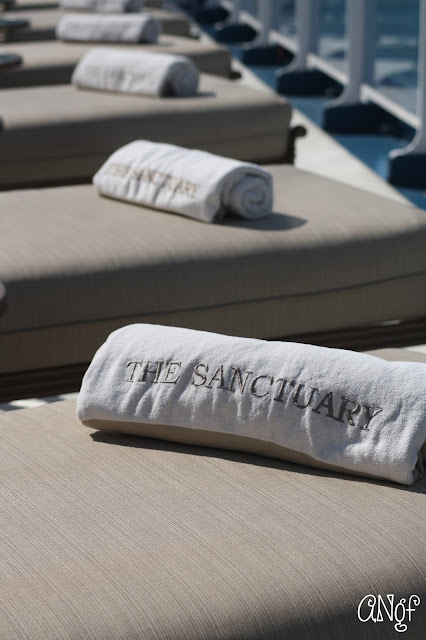 The Sanctuary, a haven for relaxation aboard Royal Princess | Anyonita-nibbles.co.uk