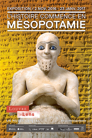 'History Begins in Mesopotamia' at the Musée du Louvre-Lens, Paris