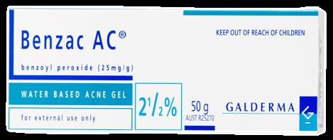 ยาทาก่อนล้างหน้า Benzac AC