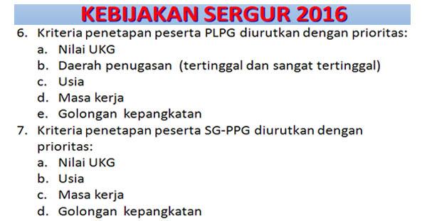 Hasil gambar untuk PLPG 2016