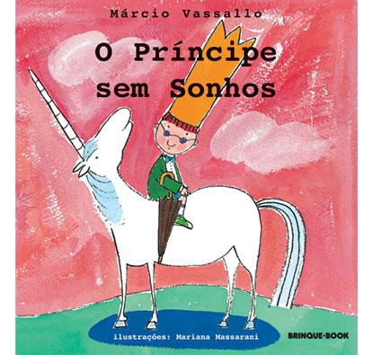 capa do livro O Príncipe sem Sonhos