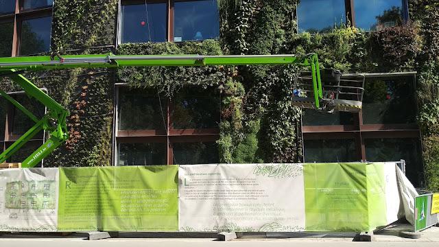 Jardines verticales Paris