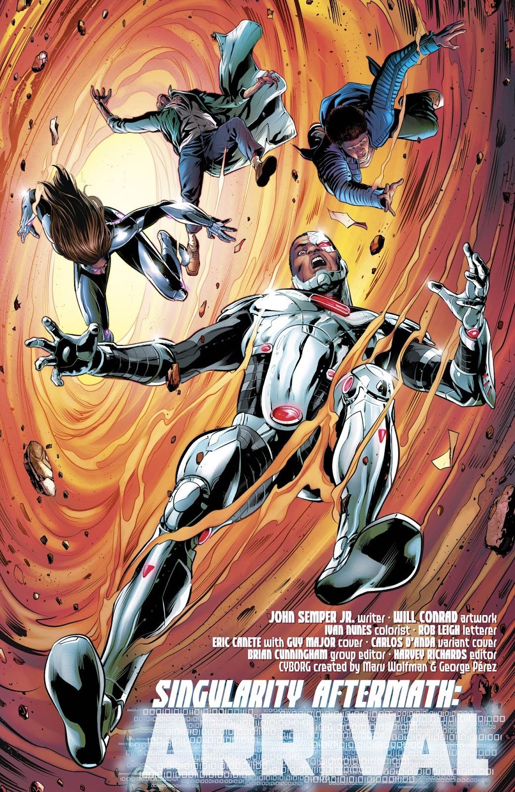 Read online Cyborg (2016) comic -  Issue #14 - 4