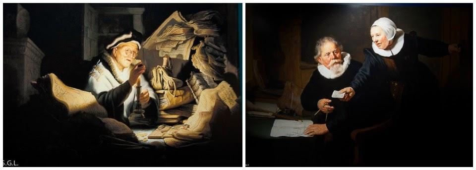 Cuadros de Rembrandt. Arte en Amsterdam
