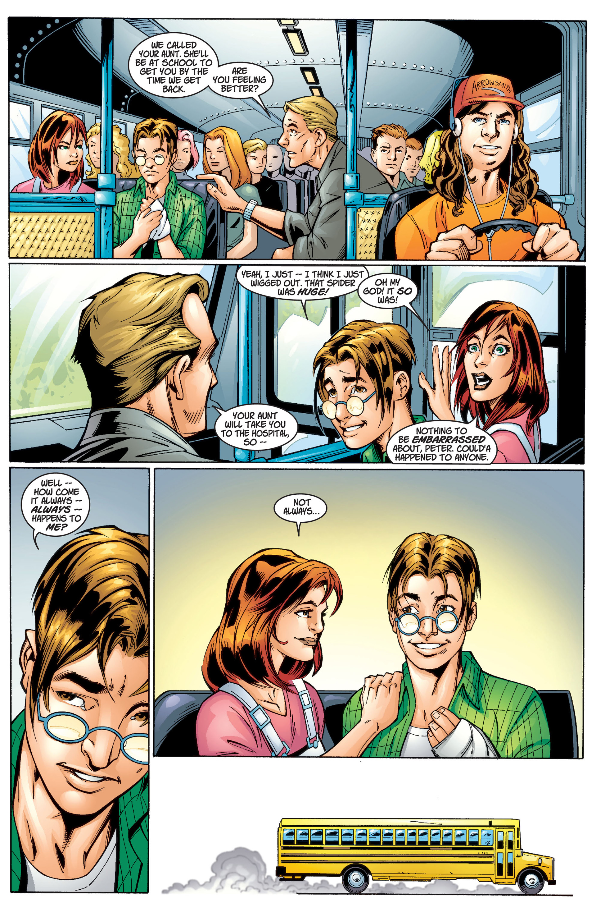 Read online Ultimate Spider-Man (2000) comic -  Issue #1 - 24