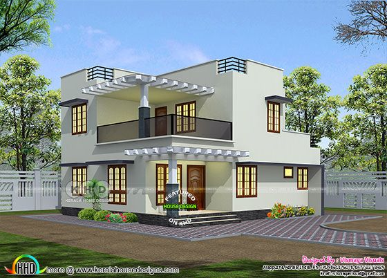 1647 square feet 4 bedroom modern home architecture