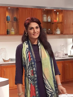 Sharmin Lucky In Cooking Show
