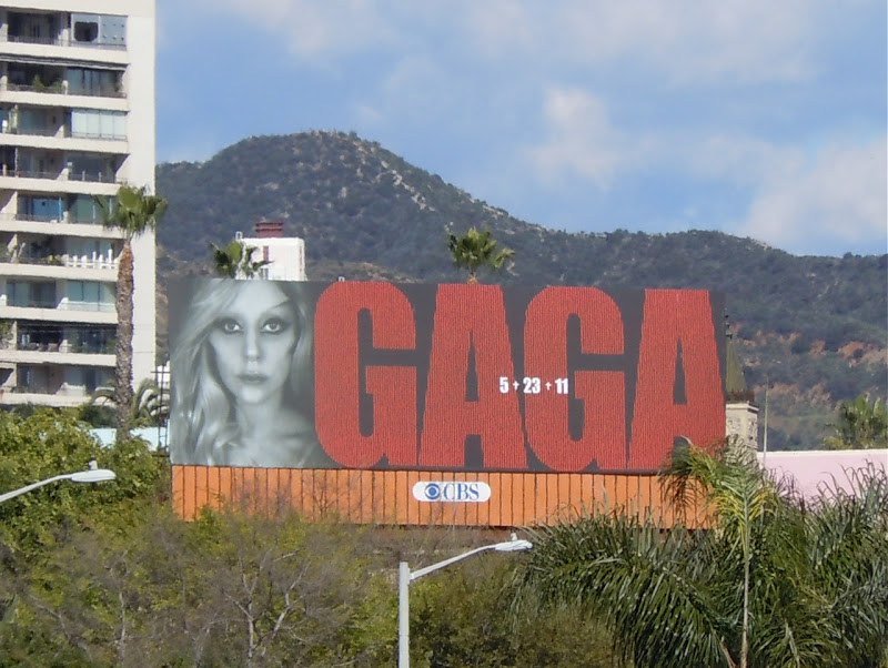 Gaga Born This Way album billboard