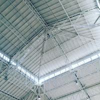 tetto del palazzo del ghiaccio