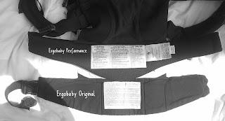 Ergobaby Original portage babycarrier préformé avis test ceinture Performance