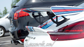 Porsche Cayman GT4 Martini Livery  Wing