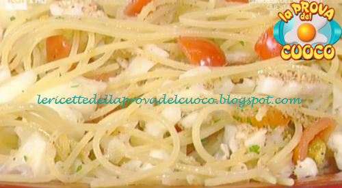 Spaghettoni della vigilia ricetta Persegani da Prova del Cuoco