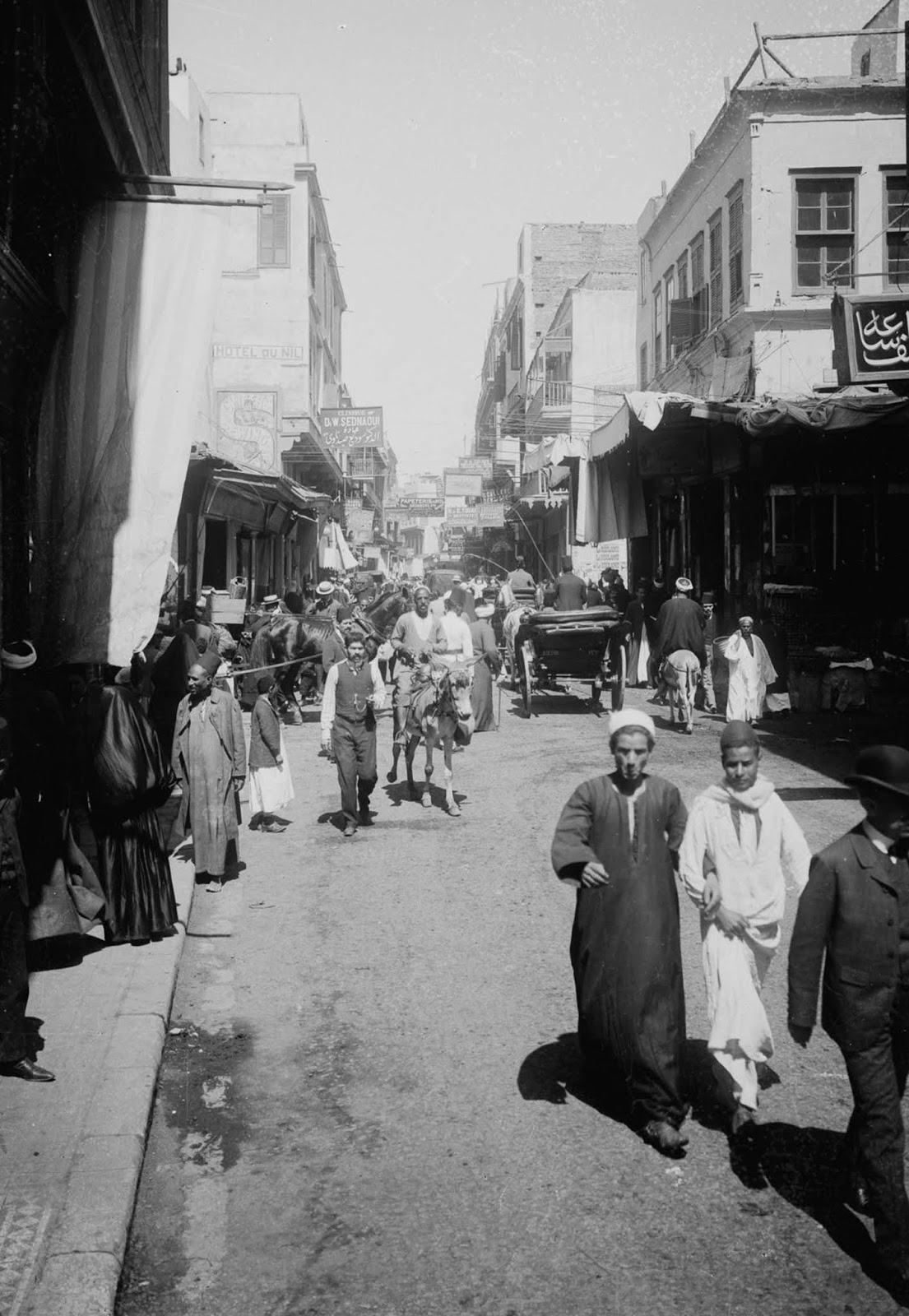 Muski Street. 1900.