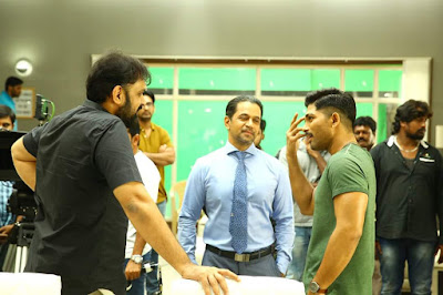 #NSNI Naa Peru Surya Movie working stills Allu Arjun, Anu Emmanuel