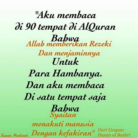 Sekali lagi kita mendapatkan kata-kata mutiara Islam tentang kehidupan khususnya tentang rezeki.  sc 1 st  pantunseribu & Kata Mutiara Islam Bergambar Tentang Kehidupan |