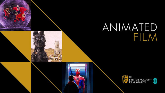 BAFTA Incredibles 2 Best Animated Film