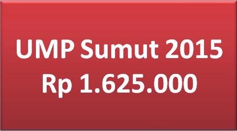 UMP Sumut 2015 Ditetapkan Rp 1.625.000