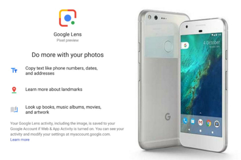 Gadget Blaze: Google Lens arrives on first gen Pixel phones through