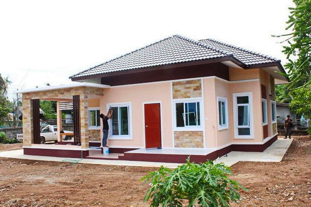 Small bungalow home blueprints and floor plans with 3 bedrooms Sample bungalow house plans