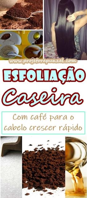 Esfoliação Capilar Caseira com Cafe e Açúcar para o Crescimento do Cabelo