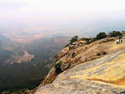 Tipu's drop, Nandi Hills