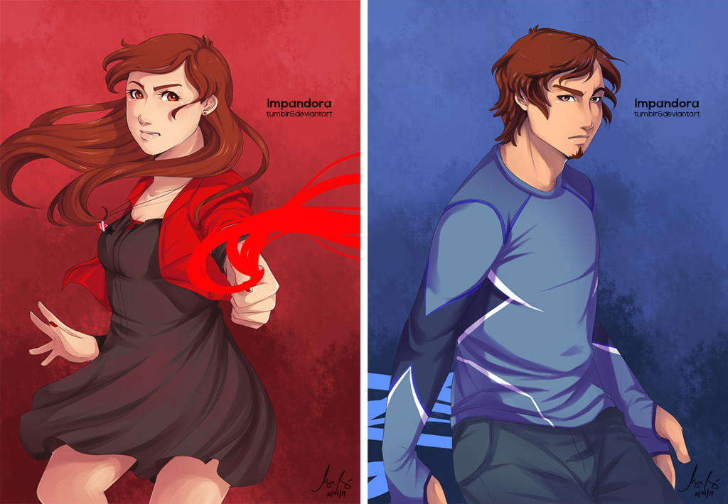 Night Vale Gravity Falls Wallpaper Fashion And Action Scarlet Witch And Quicksilver