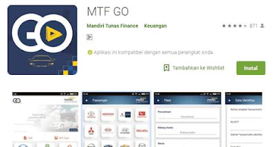 aplikasi dari mandiri tunas finance untuk informasi mengenai kredit angsuran promo menarik didalam nya