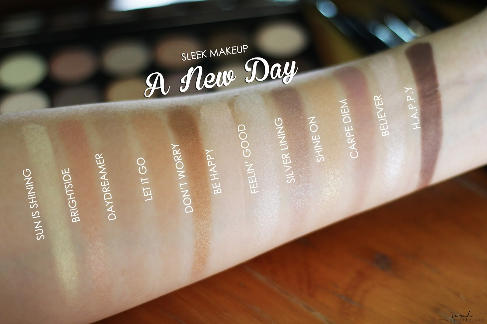 i-Divine Palette - A New Day by sleek #5