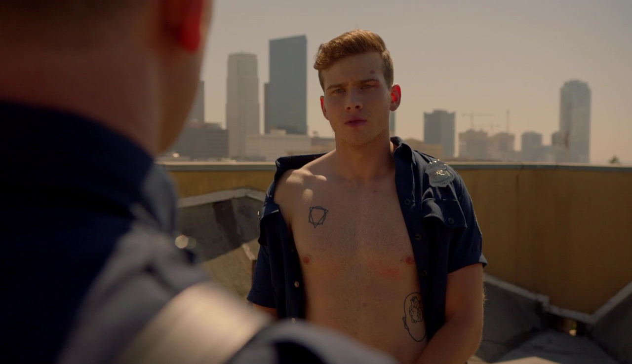 Holland shirtless brodie